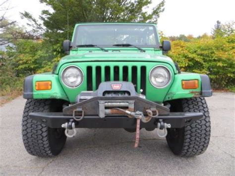 jeep rubicon winch bumper purchase used rubicon auto 4x4 warn winch bumper selling