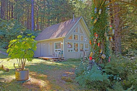 Cabin Rentals Washington Coast by Sandys Cottage Vacation Rental Cottage Finisterre