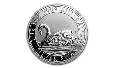 1 Oz Silver Swan Perth Mint - 2017 perth mint 1oz silver swan prospector s gold and gems