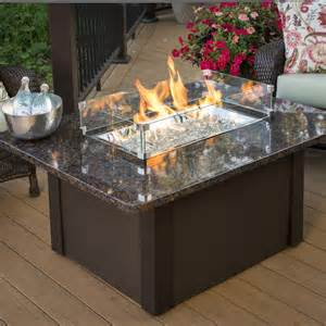 Firepit Patio Table Shop Outdoor Greatroom Company 36 In W 65000 Btu Copper Liquid Propane Table At