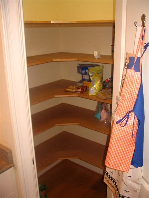 How To Build Shelves For A Pantry by Oak Pantry Shelves By Wigginton Lumberjocks
