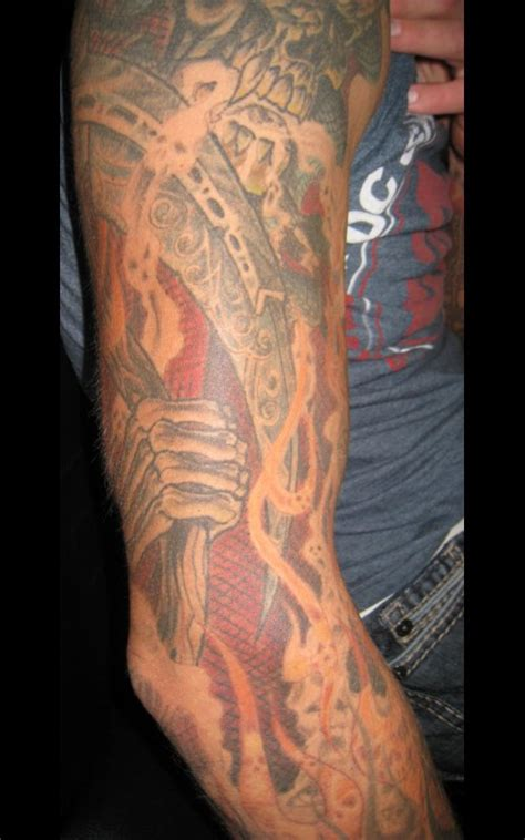 christian tattoo artists michigan mike sleeve tattoo muskegon michigan usa