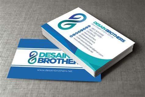 desain kartu nama marketing desain brothers