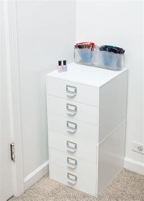 Nail And Storage Drawers by Michael S 3 Drawer Storage Cube Quot Melmer Quot For Nail