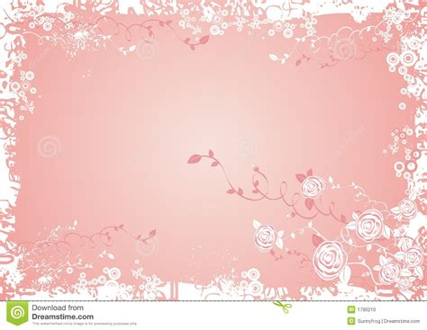 achtergrond bloemen rustig achtergrond met roze bloemen vector illustratie