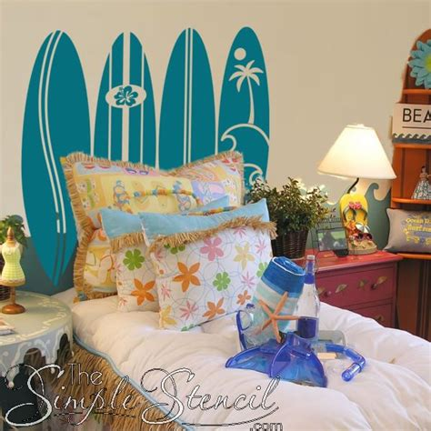 surfboard headboard 1000 images about nautical themed simple stencils on