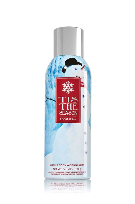 bath and works room spray tis the season 5 3 oz room spray home fragrance 1037181 bath works scents