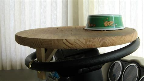 Steering Wheel Table by Steering Wheel Table
