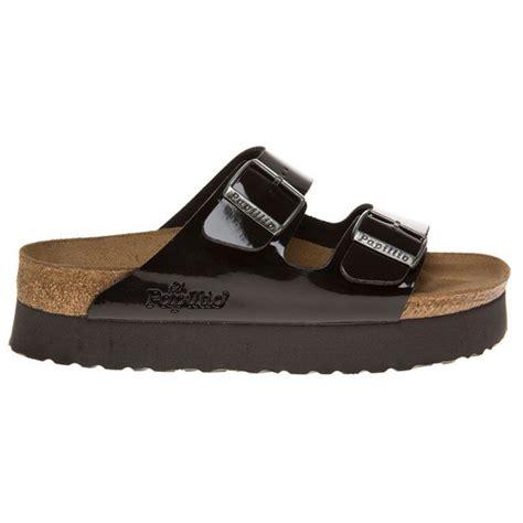platform birkenstock sandals new womens birkenstock black arizona platform patent pu