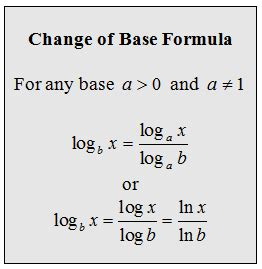 Online Graphing Calculator With Table Openalgebra Com Change Of Base Formula