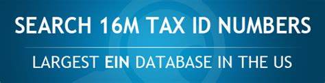 Federal Number Search Federal Tax Id Number Search Experts Tax Id Search Irs Tin Match Api Ein Search