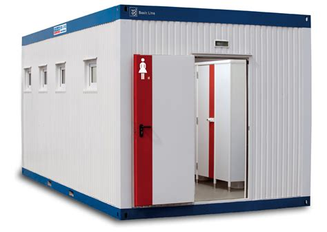 Container Office Dan Toilet The Basic Line Wc Container For Toi Toi Dixi