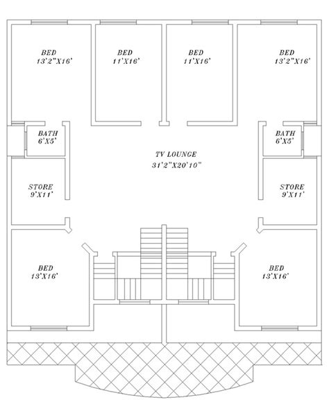 Create A House Plan 2d House Plans Gillani Architects