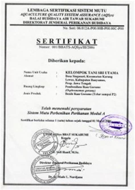 menjarah dibalik secarik kertas bernama sertifikasi benih