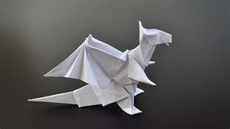 Easy Origami Dragons - origami jo nakashima in