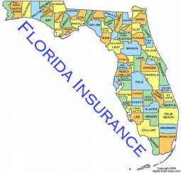 complete map of florida florida county map 3 from hunt club insurance financial