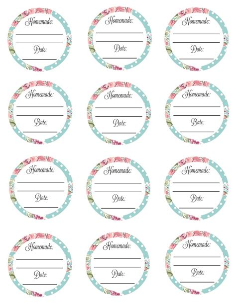 printable canning label templates free printable canning labels delicate construction