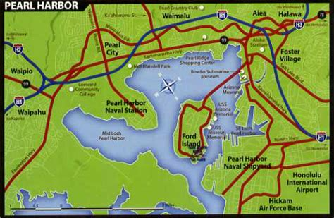 map pearl harbor everything about hawaii viva hawaii