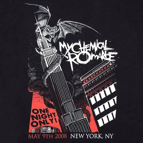 T Shirt Nyc Is My official t shirt my chemical black nyc band