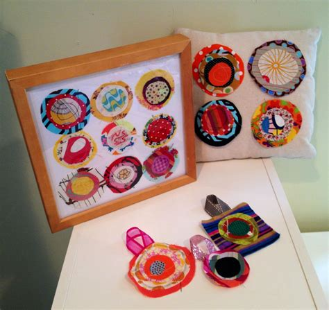 fabric crafts for children fabric scrap projects of like a kandinsky