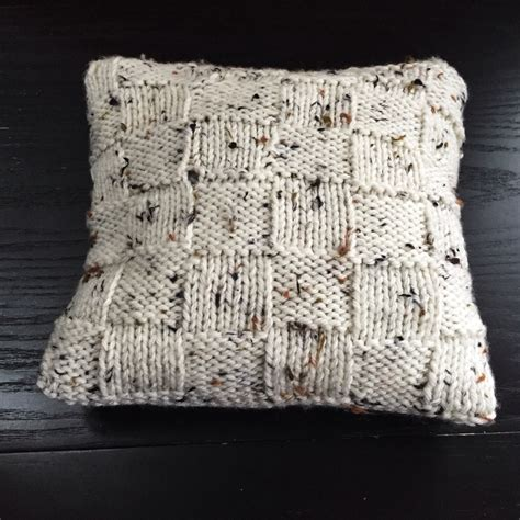 knitting pattern cushion cover charming rustic cushion cover allfreeknitting
