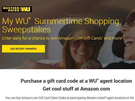 Western Union Sweepstakes - western union my wu summertime sweepstakes