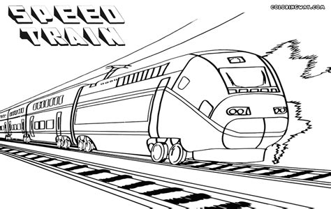 coloring page speed train train coloring pages coloring pages to download and print