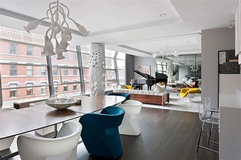 stylish manhattan apartment at the 42th floor stunning greenwich apartment homeadore
