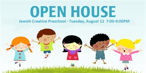 Jewish Creative Preschool Open House 08 12 14
