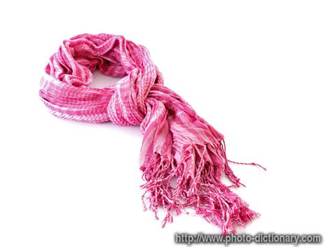 scarf photo picture definition at photo dictionary