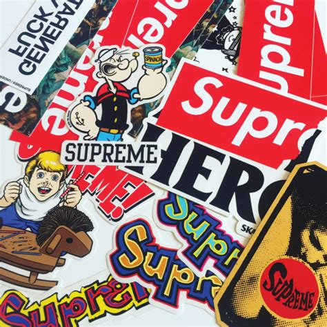 supreme stickers supreme stickers meet the collector tracking every