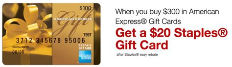 Sell American Express Gift Card - more free money mad lib at staples and 20 off some gift cards points with a crew