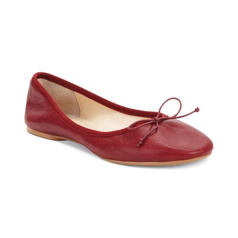 nine west shoes flats nine west classica ballet flats in lyst