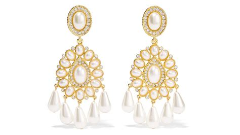 Chandelier Earrings Australia Where To Buy The Best Big Gold Chandelier Earrings Grazia Australia