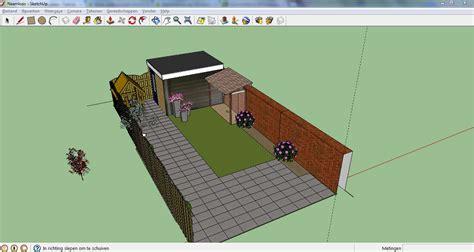 google sketchup tutorial nederlands maak gratis je eigen tuinontwerp met sketchup tuin en balkon