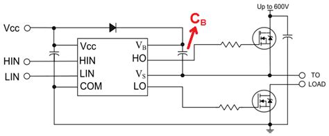 bootstrap capacitor circuit maximum voltage of the boot capacitor of a high side mosfet driver page 1