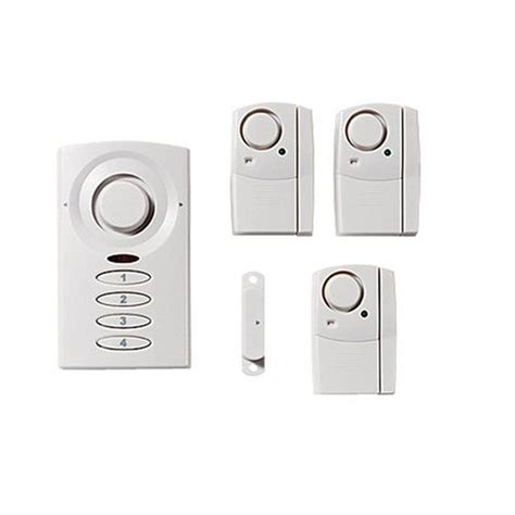 non permanant home security system for apartment dwellers