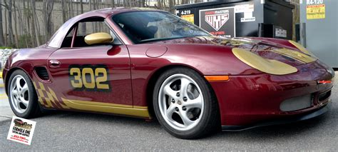 custom porsche boxster gotshadeonline custom vehicle wraps window tinting