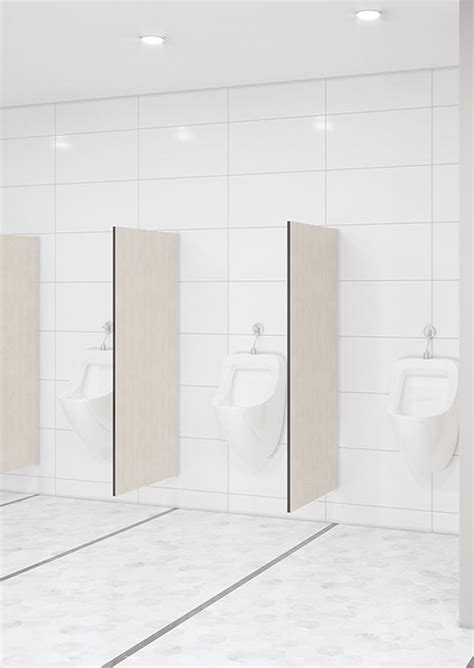 Urinal / Privacy Screen ? Wall Mounted ? Toilet Partitions