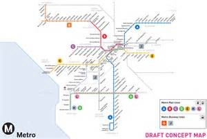 california subway map metro looking to ditch the colors for letters ontario