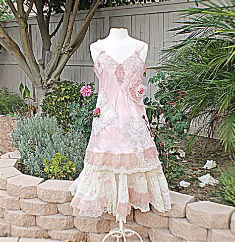 slip dress women s shabby chic romantic clothing gypsy