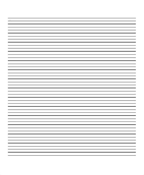printable lined paper a4 pdf lined paper 10 free word pdf psd documents download