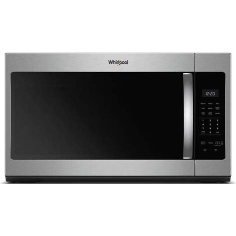 do over the range microwaves have fans shop whirlpool 1 7 cu ft over the range microwave