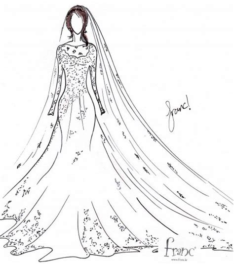 design franc art say yes to the dress franc sketches design for meghan