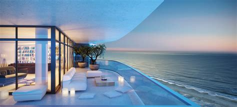 Two Story Apartment Floor Plans by Hyde Beach Resort Hollywood Beach Hallandale Beach