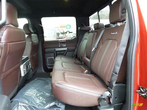 F150 Platinum Interior by Platinum Brunello Interior 2016 Ford F150 Platinum
