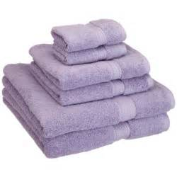 Superior egyptian cotton 900 gsm 6 piece towel set purple free