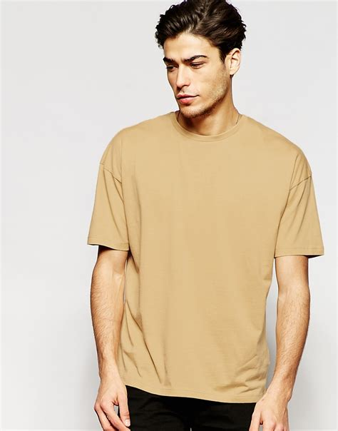 Drop Shoulder Shirt adpt dpt t shirt with drop shoulder in for lyst