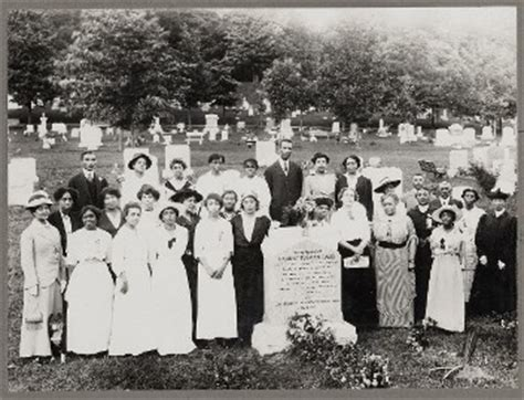 harriet tubman biography family placement of headstone at tubman s gravesite 1915