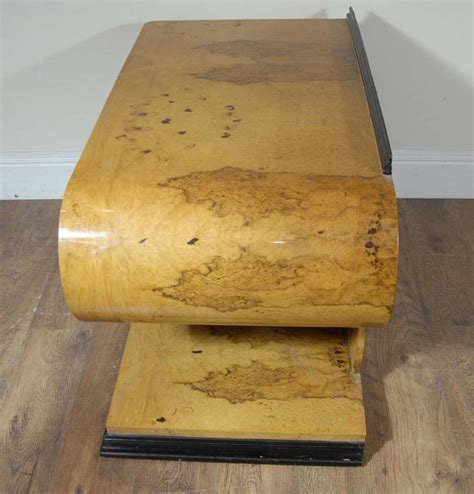 s shaped desk deco desk table s shape walnut desks